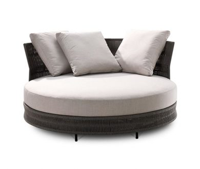Delta Outdoor III Circle Sofa by King Living