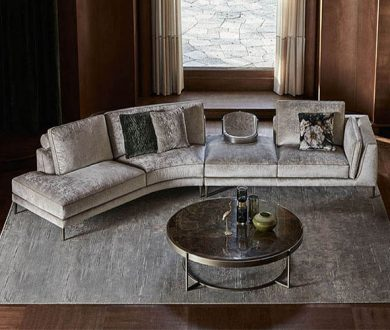 Tap into the velvet interior trend with this divinely plush sofa