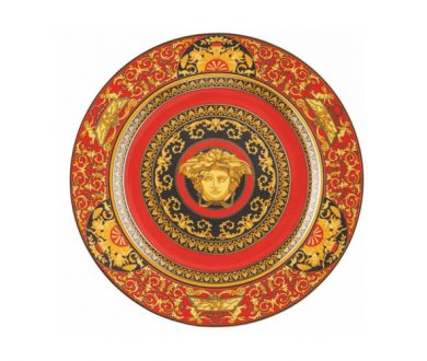 Limited Edition Versace 25 Years Medusa Plate
