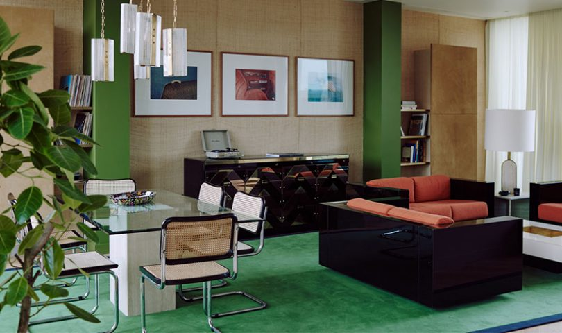 This Bella Freud-designed penthouse is a masterclass in 70s revival