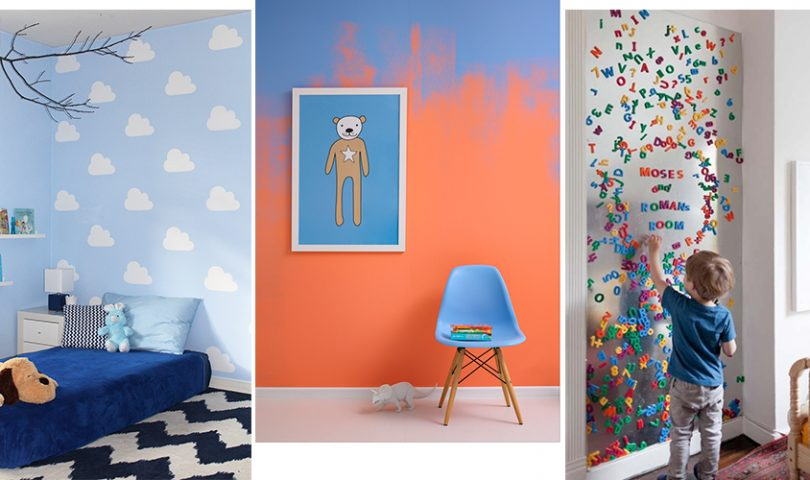 Bright ideas on how to transform your kids' rooms into a space they'll love