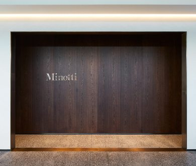 ECC unveils its stunning new Minotti showroom and the designs to match