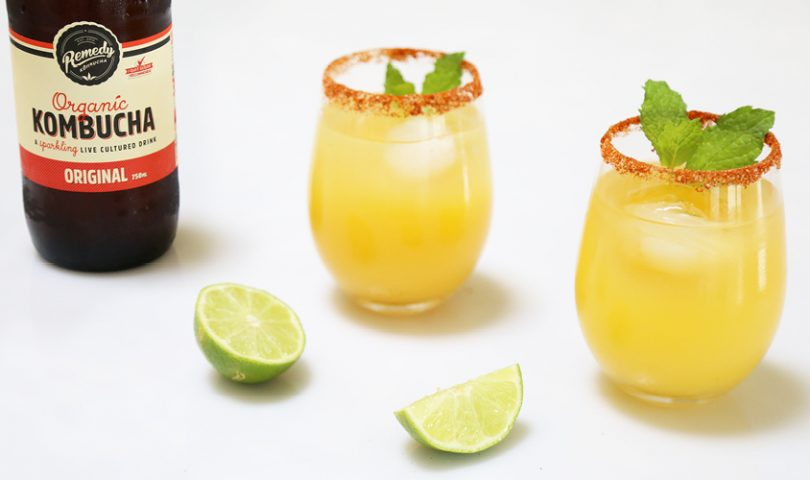 This kombucha margarita recipe should be your go-to over the festive season