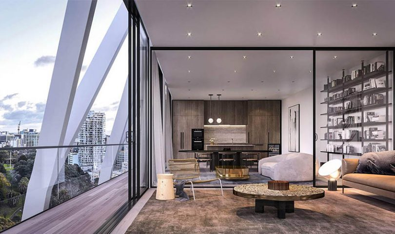 This luxurious apartment complex is giving new meaning to the term 'downsizing'