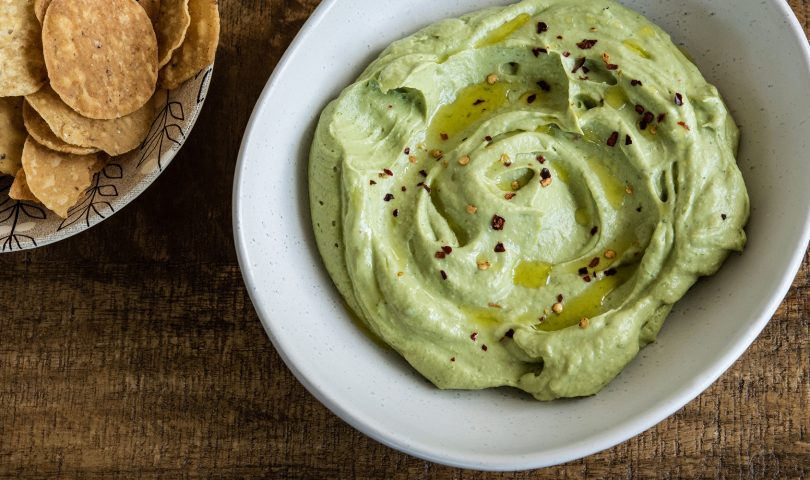Recipe: a deliciously smooth avocado and tahini dip