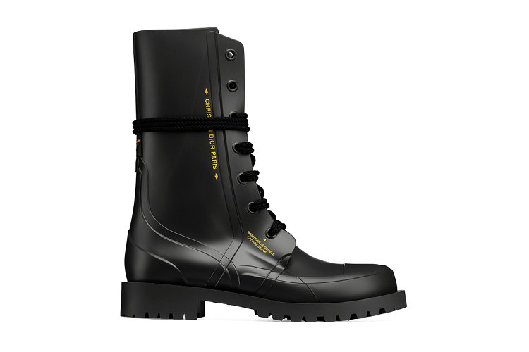 Diorcamp rubber ankle boots
