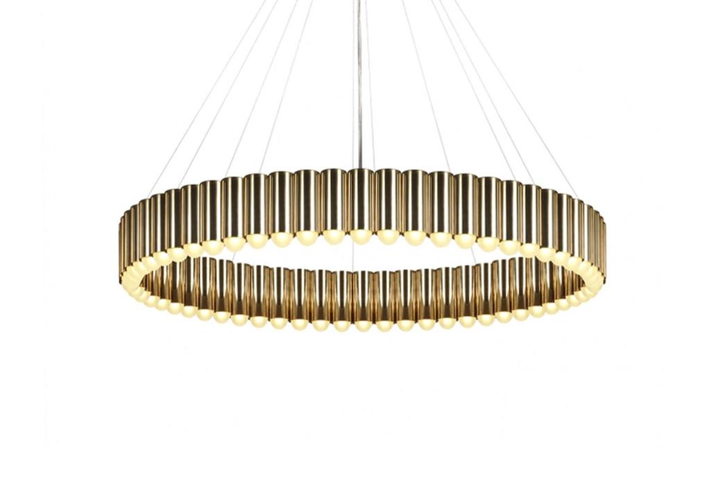 Carousel pendant light