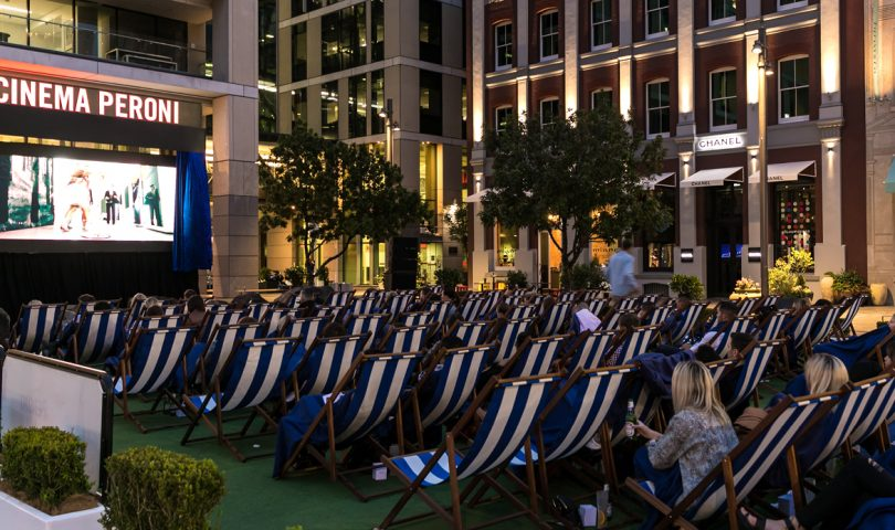 Cinema Peroni's al fresco experience is back for another year and we have your chance to win