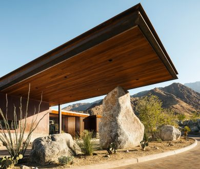 We're taking design cues from this incredible building in the middle of the desert
