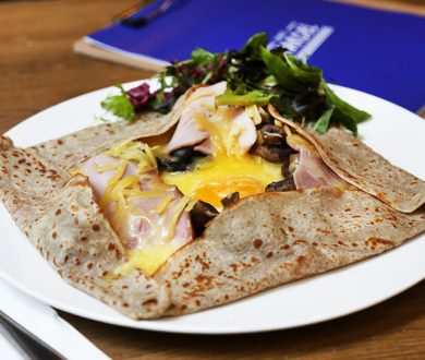 Channel your inner Parisian at this new little French crêperie