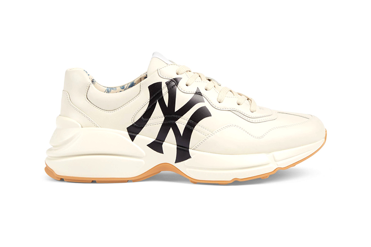 Rhyton sneaker with NY Yankees print