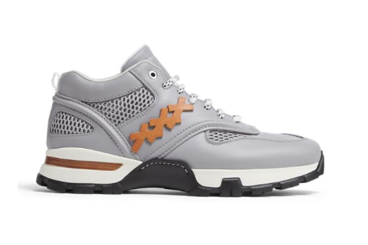 Leather cesare sneaker