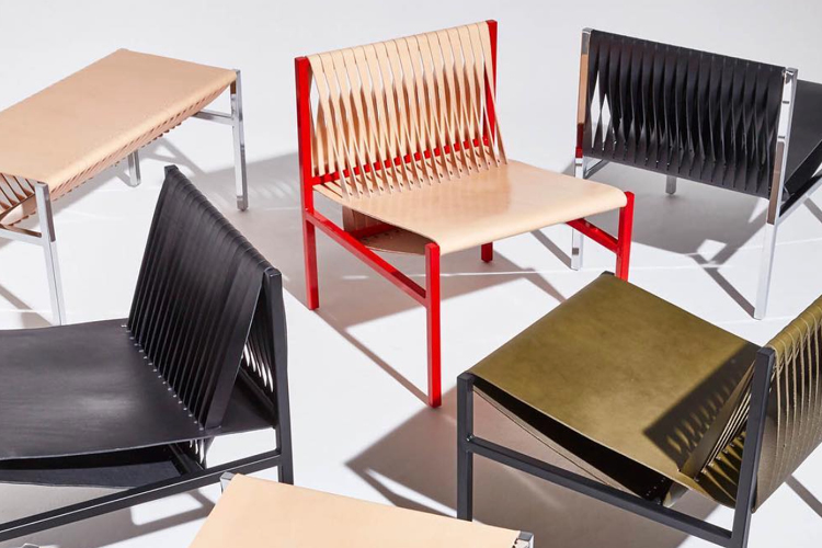 The DL Lounge Chair and Bench couple