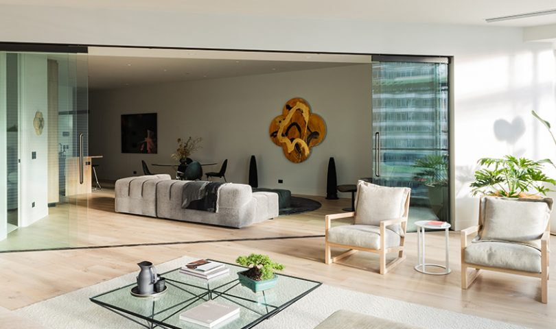 See inside the first completed apartment from Auckland's new luxury residence — The International