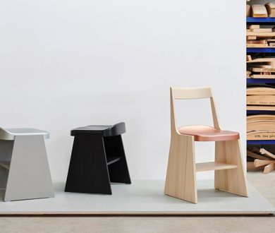 The Fronda stools and chair