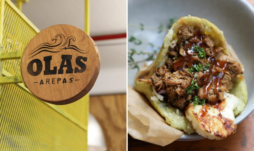 From food truck to food stall — Olas Arepas has a cosy new home in Ponsonby