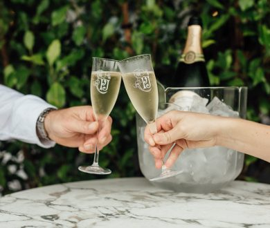 Your first look at Perrier-Jouët's enchanting Champagne Garden at Euro