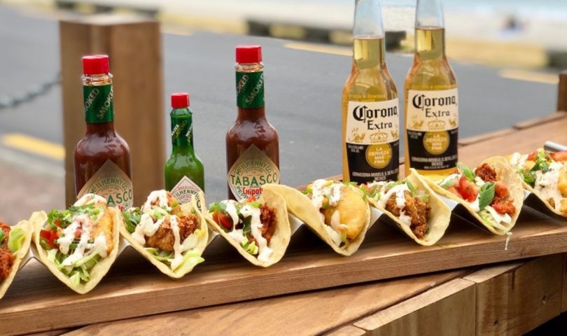 Charlie Farley's tasty taco smorgasbord is making lunch with friends easier than ever
