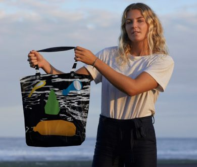 Meet the reusable, artist-designed bag supporting Bali's plastic ban and cleaning up its coastline