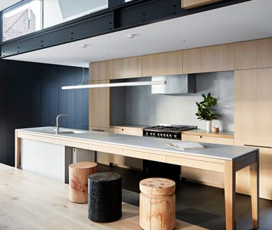 Win a Fisher & Paykel Freestanding Cooker and imbue your kitchen with the same finesse as this modern Melbourne home