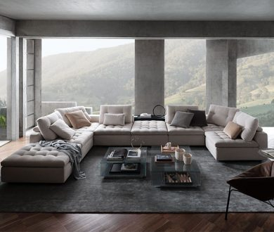 This gloriously plush sofa is delivering an unmatched experience of comfort