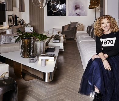 Renowned for both her interior work and eponymous furniture line, Kelly Hoppen is a designer to know