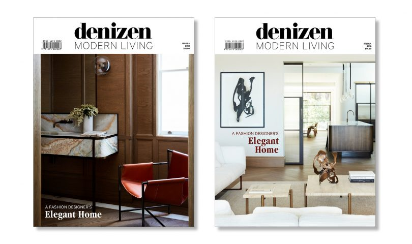 Issue Four of our annual design bible, Denizen Modern Living, has just landed on shelves