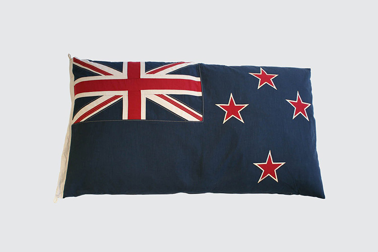Flag cushion by Timothy Oulton