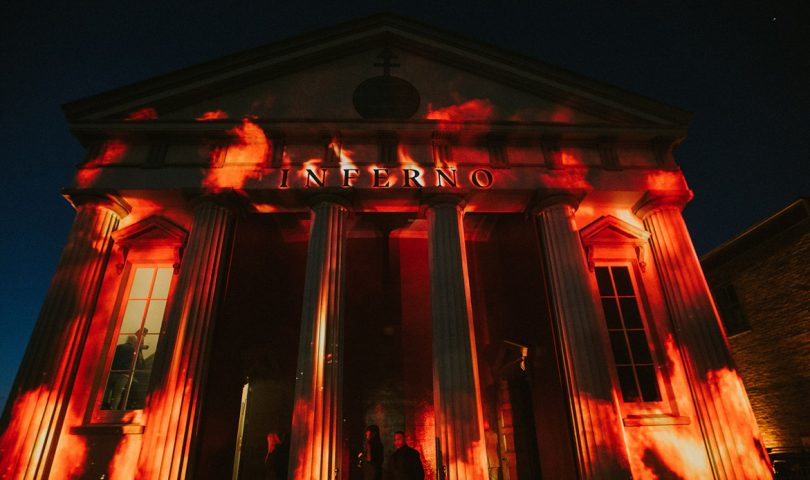 Peek inside the opening night of Gui Taccetti's unprecedented Inferno exhibition