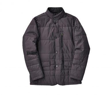 Charcoal Technical Coat