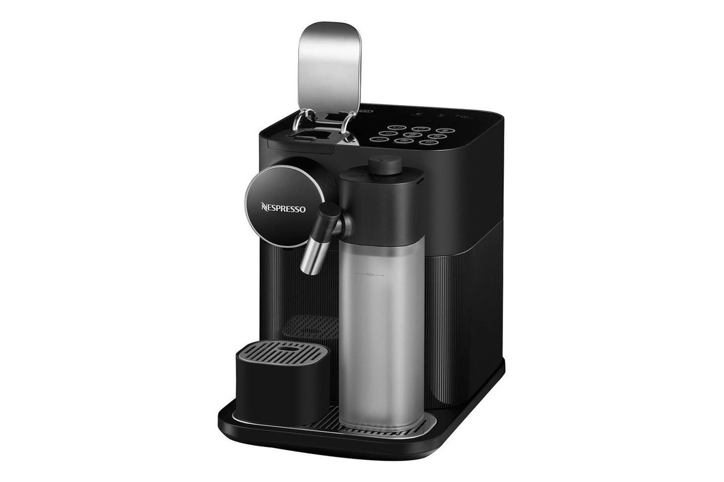 Gran Lattissima Black Coffee Machine