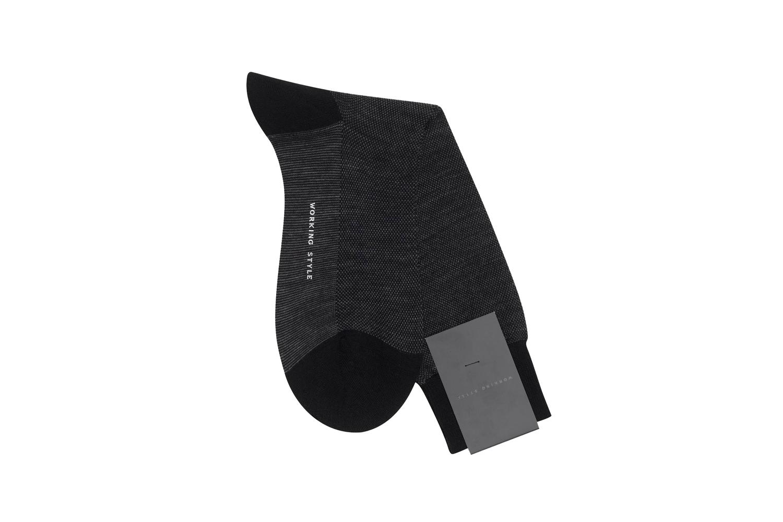 Black Birdseye Socks