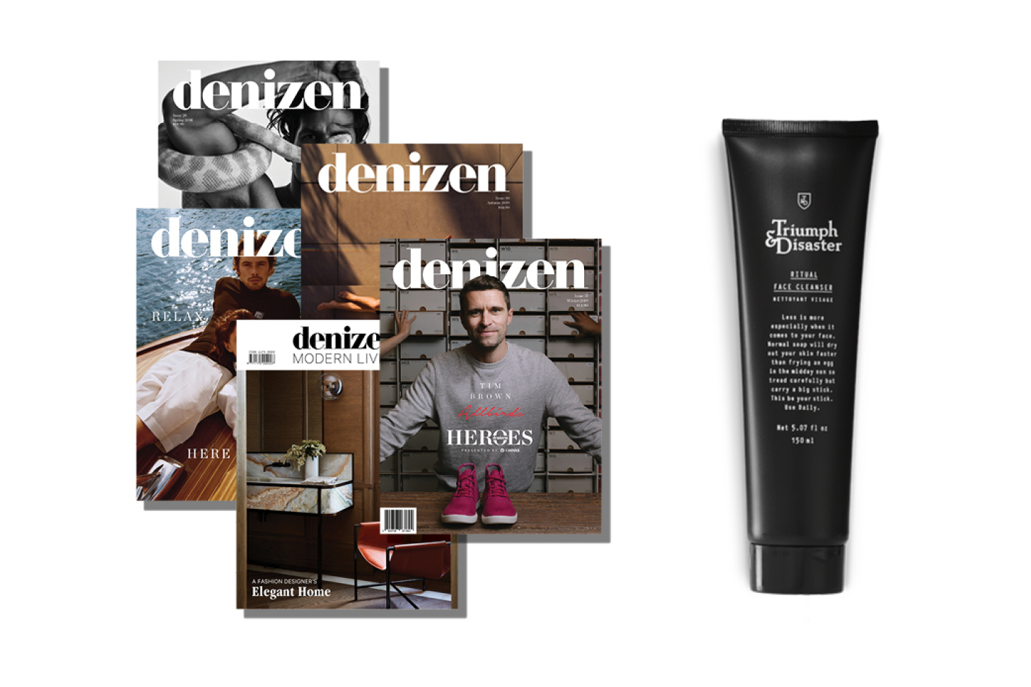 A Father's Day Subscription with Triumph & Disaster Ritual Face Cleanser Gift