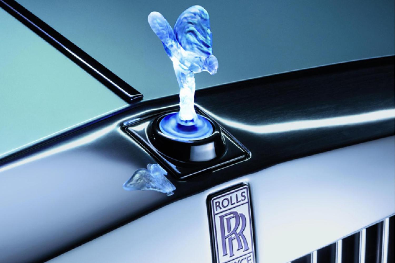 Rolls-Royce Illuminated Spirit of Ecstasy