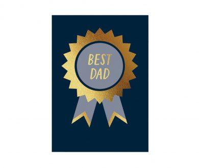 Elm Paper Best Dad Card