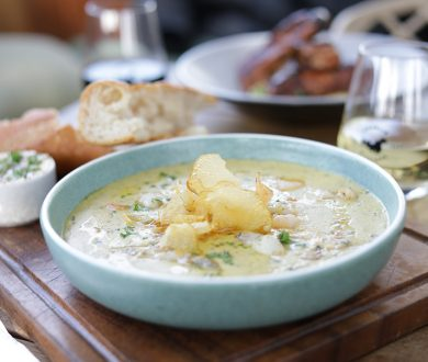 Meet the dish we're obsessed with right now — Charlie Farley's seafood chowder