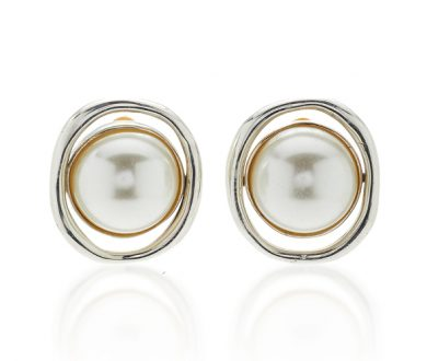 Sophie Buhai Pearl Orb clip-on earrings