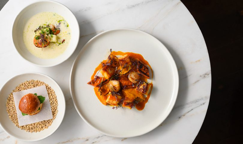 Euro Bar & Restaurant's sensational three-course lunch menu is celebrating the season of the scallop