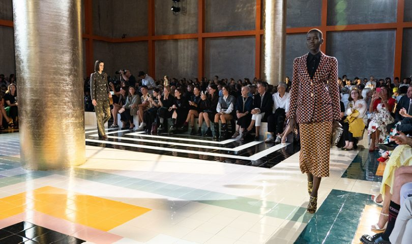 Prada offered a change of pace as it kicked off Milan Fashion Week in style