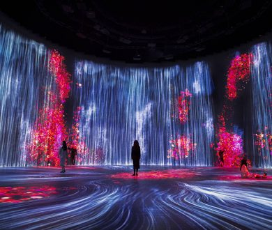 A free exhibition from spellbinding art collective TeamLab kicks off in Melbourne this weekend