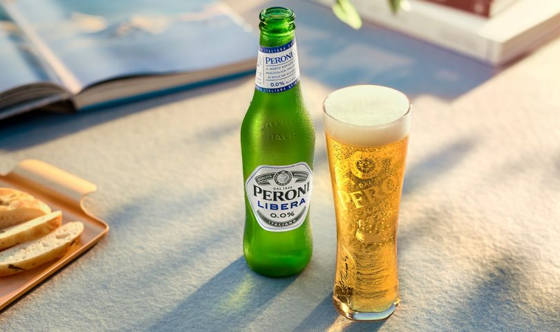 Prestigious Italian beer brand, Peroni, has launched its first, premium 0.0% alcohol lager