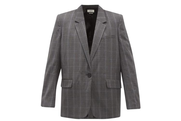 Isabel Marant Etoile Verix wool suit jacket