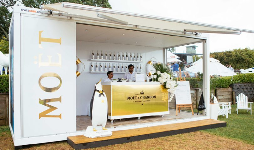 This summer you'll find us here, raising a glass to 150 years of Moët Impérial