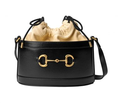 1955 Horsebit Bucket Bag
