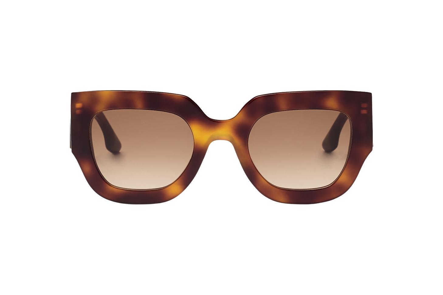 Victoria Beckham Wide Flat Square Sunglasses