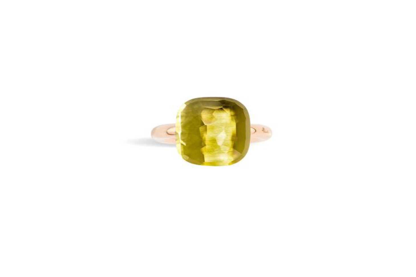 Pomellato Nudo Assoluto Ring with Lemon Quartz