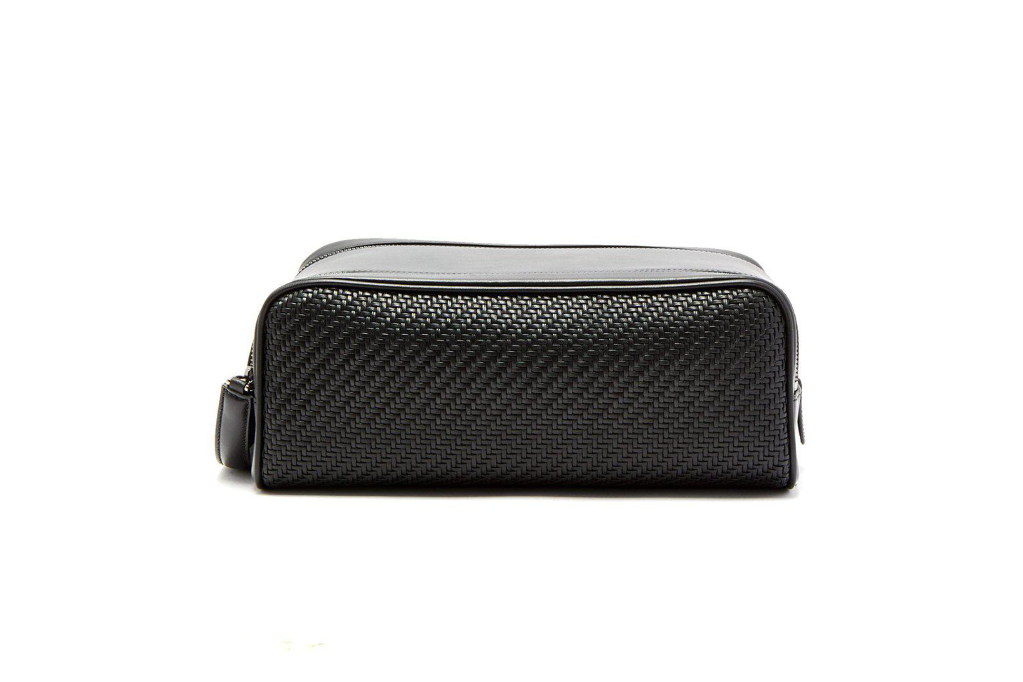 Black Pelletessuta Wash Bag
