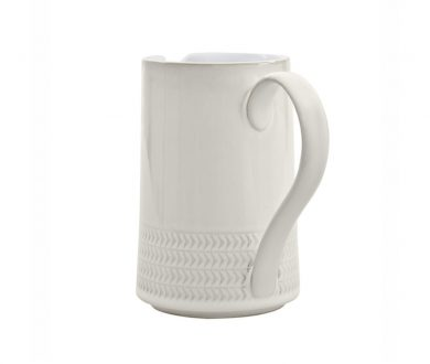 Denby Canvas Textured Jug