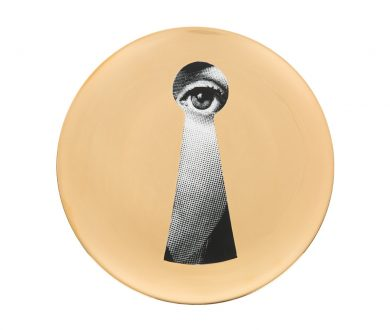Fornasetti Gold Leaf Plate #14