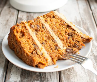 Denizen's recipe for the ultimate triple-layered carrot cake